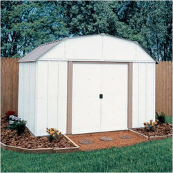 Arrow Lexington Shed - Take a look at some of our Arrow brand sheds. Arrow is the leading manufacturer of steel sheds in the USA. They offer a very economical solution to all of your storage needs. Arrow has a full line of small garden sheds to large garages.