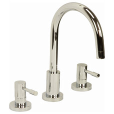 Modern Bathroom Faucets And Showerheads Hydra 3 Tap Hole Basin Mixer