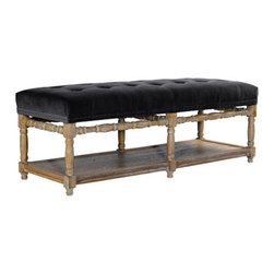 Curations Limited - Napa Velvet Bench -