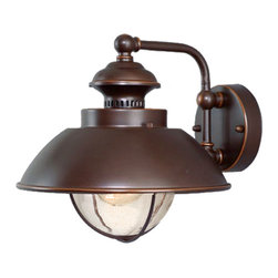 Vaxcel - Harwich Wall Sconce - Vaxcel OW21501BBZ Harwich Burnished Bronze Outdoor Wall Sconce