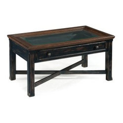 Magnussen Clanton Wood Small Rectangular Cocktail Table