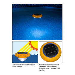 Blue Wave - Blue Wave Starshine Solar Floating Light - Pool accessories 1