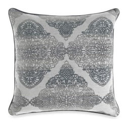 Spencer N. Enterprises - Paschall Toss Pillow - Toss this oversized pillow anywhere, from your floor, to your sofa, to your bed. The unique medallion pattern will add the perfect touch of style to your decor. Plumped with a waterfowl feather insert.