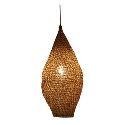 ecofirstart - Woven suspended lamp Drop - Details: