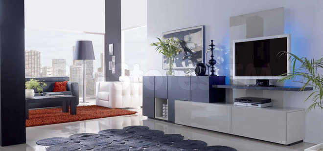 Modern Media Storage by BA Furniture Stores