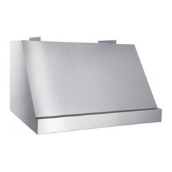 """Best - WP28M48SB Classico 48"""" Pro-Style Range Hood with 13 Blower Options  Automatic He - Timeless canopy style has been the standard of excellence Classico provides high ventilation and durable construction to meet the needs of professional-style cooking appliances Now with iQ blower options and Hi-Flow baffle filters for optimal performance"""