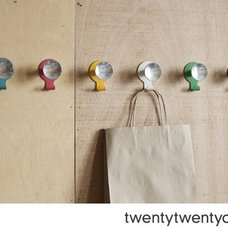 Contemporary Hooks And Hangers by twentytwentyone