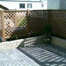 Traditional Fencing by YardScape Construction