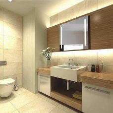 Modern Bathroom Mirrors by china Fitin decoration