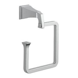 Delta - Dryden Towel Ring in Chrome - Delta 75146 Dryden Towel Ring in Chrome.