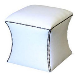 Demi Ryan - Demi Ryan 8 Ottoman - The Demi Ryan 8 Ottoman makes a beautiful and functional accessory when paired with a living room sofa.