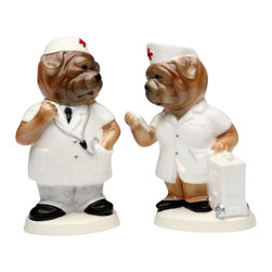 ATD - Communicating Hospital Staff Dogs Design Salt and Pepper Shaker Set - This gorgeous Communicating Hospital Staff Dogs Design Salt and Pepper Shaker Set has the finest details and highest quality you will find anywhere! Communicating Hospital Staff Dogs Design Salt and Pepper Shaker Set is truly remarkable.