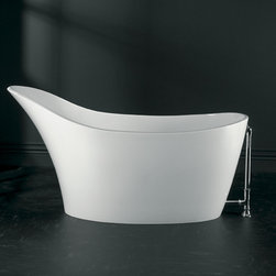 Amalfi — Victoria & Albert Baths - A slipper tub for the 21st century, the Amalfi transforms the period look into sexy sleekness.