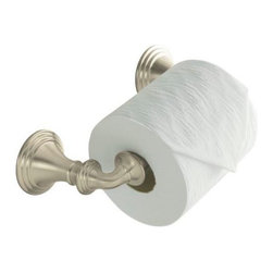 KOHLER - KOHLER K-10554-BN Devonshire Toilet Paper Holder - KOHLER K-10554-BN Devonshire Toilet Paper Holder in Vibrant Brushed Nickel
