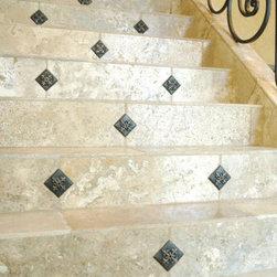 metal  decorative accent tile -