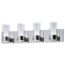 contemporary bathroom lighting and vanity lighting by Lamps Plus