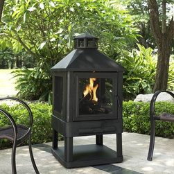 Crosley Furniture - Monticello Fire Pit - 360 degree view of fire. Contemporary and durable steel frame. Steel poker to keep your fire stoked. Spark screen. All steel construction. Easy to assemble. Removable ash pan. 45.5 in. L x 21.75 in. W x 21.75 in. H ( 38.5 lbs.)Add some stylish flare to any outdoor setting with this contemporary fire pit. The 360 degree mesh screen encloses the fire, providing an enchanting view from all around. Friends and family may enjoy the evening safely with the large screen, keeping the fire under control and contained.
