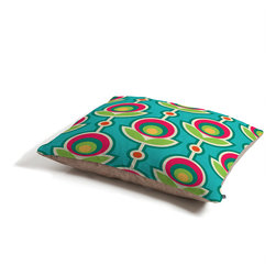 Juliana Curi Retro Soft Dog Bed - Perfect for dogs, cats,heck, even a pig! With our cozy pet bed made of a fleece top and waterproof duck bottom, you're bound to have one happy animal catching some zzzz's in ultimate comfort.