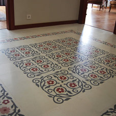 Mediterranean Wall And Floor Tile by Cement Tile / KAROİSTANBUL
