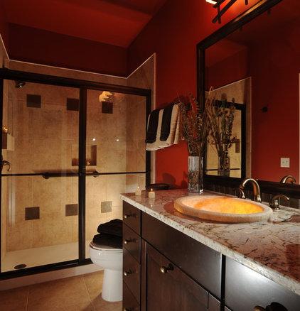 Mediterranean Bathroom by KW Cowles Design Center, LLC