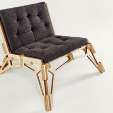 Contemporary Living Room Chairs by gustav-duesing.com