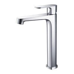 Fresca - Fresca Gravina Single Hole Vessel Mount Bathroom Vanity Faucet - Chrome - Fresca Gravina Single Hole Vessel Mount Bathroom Vanity Faucet - Chrome