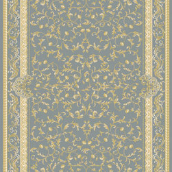 "Rugs America Corp. - Rugs America Corp. Rug, Light Blue, 7' 10"" x10' 10"" - Ancient royalty meets modern technology with the creation of Verona by Rugs America. Sophisticated and elegant traditional patterns have been redeveloped in a fine machine woven quality to satisfy the most advanced decorative tastes without having to spend a fortune. Superbly dense, plush, rich and durable, the Verona collection is a floor covering masterpiece developed with unprecedented taste and elegance.   Made in Turkey with extra durable synthetic fibers for long lasting sustainability."