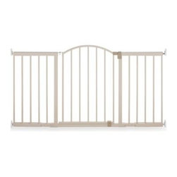 Summer Infant - Summer 6-Foot Wide Metal Expansion Gate - Larger openings are no longer a problem for parents who are looking for a safe way to keep baby from gaining access to certain areas of their home. Sturdy hardware mounted gate, and one-handed walk through door allows parents to move through with ease.