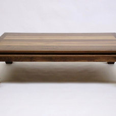 Asian Coffee Tables by Belak Woodworking LLC