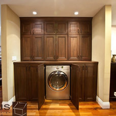 Traditional Laundry Room by APlus Interior Design & Remodeling