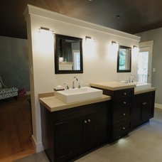 Vanity Tops And Side Splashes by Concrete Lifestyles