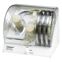 Cuisinart - Cuisinart Blade and Disc Holder - For use with all Cuisinart 7, 11 and 14-cup food processor accessories