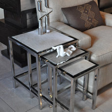 Contemporary Side Tables And End Tables by Kom Furniture