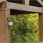 Wall Mounting Solar Light Kit-Expresso - Wall Mounting Solar Light Kit (2/CTN) Color is Expresso