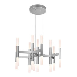 Sonneman Lighting - Sonneman Lighting 2233.16 Sonata 10-Arm LED Pendant Light - Sonneman Lighting 2233.16 Sonata 10-Arm Led Pendant Light In Bright Satin Aluminum