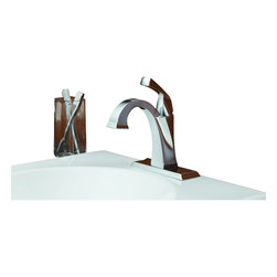 Delta - Dryden Single Handle Centerset Bathroom Faucet with Diamond Seal Technology - Delta 551-DST Dryden Single Handle Centerset Bathroom Faucet with Diamond Seal Technology in Chrome.