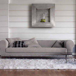 Romance Sofa 01480 - Upholstered sofa available in four lengths.