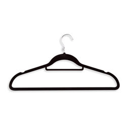 Honey Can Do - Honey Can Do Velvet Touch Cascading Suit Hangers - Set of 18 - HNGZ01091 - Shop for Clothing Hangers from Hayneedle.com! About Honey-Can-DoHeadquartered in Chicago Honey-Can-Do is dedicated to helping you organize your life. They understand that you need storage solutions that are stylish and affordable at the same time. Honey-Can-Do focuses on current design trends and colors to create products that fit your decor tastes while simultaneously concentrating on exceptional quality. When buying a Honey-Can-Do product you can be sure you are purchasing a piece that has met safety control standards and social compliance methods.