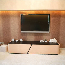 Modern Home Theater by Limitless