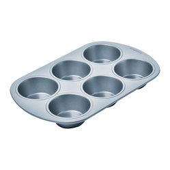 Chicago Metallic Betterbake Nonstick 6-Cup Muffin Pan