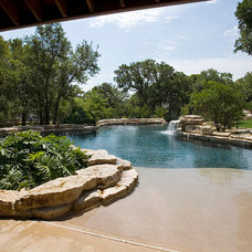 Beach Style  by Keith Zars Pools