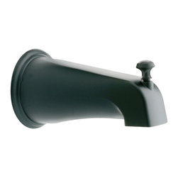 Moen - Moen 3808WR Moen Diverter Tub Spout - From finishes that are guaranteed to last a lifetime, to faucets that balance your water pressure perfectly, the Moen series sets the standard for exceptional beauty and reliable, innovative design.