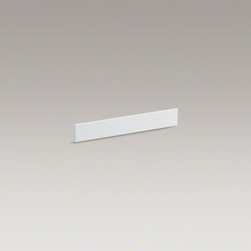KOHLER - KOHLER Solid/Expressions(TM) universal side splash kit - This easy-to-install side splash provides a clean, finished look to your Solid/Expressions vanity top and helps protect walls from water damage. Combine it with an optional backsplash to complete a corner or alcove space.