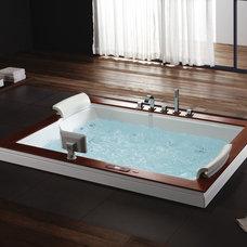 Modern Bathtubs by Aquapeutics