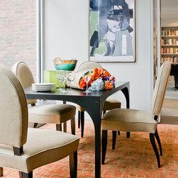 Custom Furnishings - Custom Dining Table, walnut - seats 4 (can be customized)