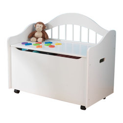 Kidkraft - KidKraft Limited Edition Toy Chest/Box in White - Kidkraft - Toy Boxes and Chests - 14101 - Our Limited Edition Toy Chest keeps rooms tidy with style. This chest would be a great addition to any kid's room.