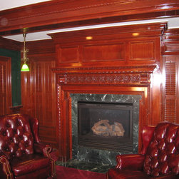 Ocean Grove Wood Shutters - Ocean Grove New Jersey Billiards Room Traditional Shutters