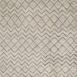 """Loloi - Transitional Tanzania 5'6""""x8'6"""" Rectangle Stone Area Rug - The Tanzania area rug Collection offers an affordable assortment of Transitional stylings. Tanzania features a blend of natural Stone color. Hand Made of 80% Wool - 20% Jute the Tanzania Collection is an intriguing compliment to any decor."""