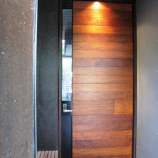 Modern Front Doors by Allkind Joinery & Glass Pty Ltd
