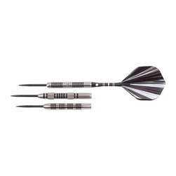 Nodor - Nodor 80% Tungsten Steel Tip Darts with Slim Trac Case - STP700 - Shop for Darts and Dart Boards from Hayneedle.com! Find your balance at the line with the Nodor 80% Tungsten Steel Tip Darts with Slim Trac Case. These 80% tungsten-barreled steel-tips are a gorgeous example of the slimmer profile and well-balanced design afforded by dense metals. The barrels are knurled and grooved for greater grip and control and come with aluminum shafts steel points and graphic flights. You'll also get an extra set of 3 flights 3 shafts and a convenient low-profile Slim Trac case.Please note that barrel style flights and dart weight may vary. Darts will be 18 22 or 24 grams but we are unable to receive orders for specified weights.About Escalade SportsEscalade Sports originated as Indian Archer and Toy Company in 1927. Since then the company has blossomed into an internationally acclaimed sporting goods manufacturer and distributer. As the world's leading producer and distributer of pool tables table tennis tables and game tables Escalade Sports is known for their quality products and brands new product development and excellent customer service. Headquartered in Evansville Illinois this global company can confidently say that no matter what your game their brands deliver serious play.
